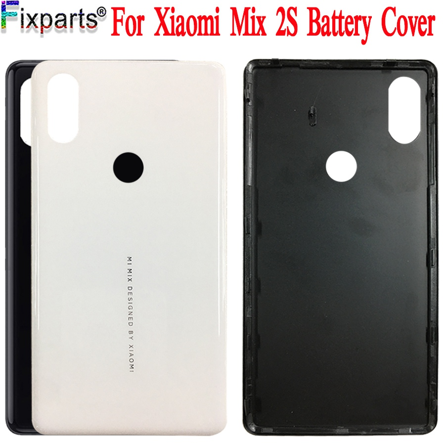 Xiaomi Mi Mix 2S Back Battery Cover Rear Door Housing Case Panel Replacement Original 5.99