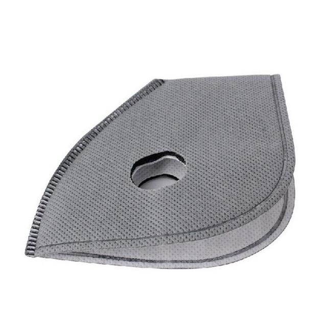 Cycling Mask PM 2.5 Anti-smog Mask Liner Removable Mask Lining Activated Carbon Mask Accessory Filter Breath Filter Replace Flu 4