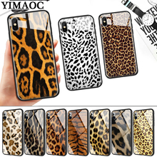 Fashion Tiger Leopard Panther Glass Phone Case for Apple iPhone 11 Pro XR X XS Max 6 6S 7 8 Plus 5 5S SE