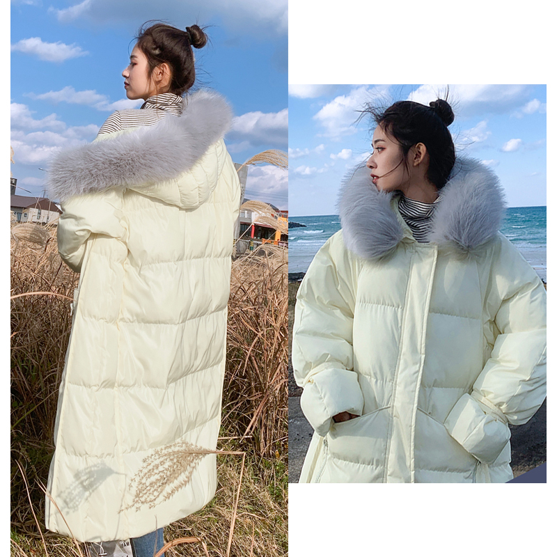 New arrival 2019 women winter long parka cotton padded warm coats fash_B8_19