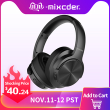 Mixcder Wireless Bluetooth Headphones Playtime Active Noise Cancelling Deep-Bass Super-Hifi