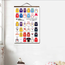 Lienzo pintura Estilo nórdico impresiones alfabeto Animal decoración del hogar pared imagen modular artística póster de color agua para habitación de los niños