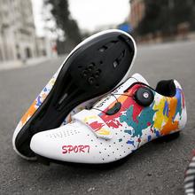 2020 nowe obuwie rowerowe mężczyźni Spd Sport Bike Sneakers Hombre profesjonalna górska droga buty rowerowe Triathlon Sapatilha Ciclismos tanie tanio WHOSONG CN (pochodzenie) Dla dorosłych Oddychające Wysokość zwiększenie Masaż Wodoodporna Cotton Fabric Średnie (b m)