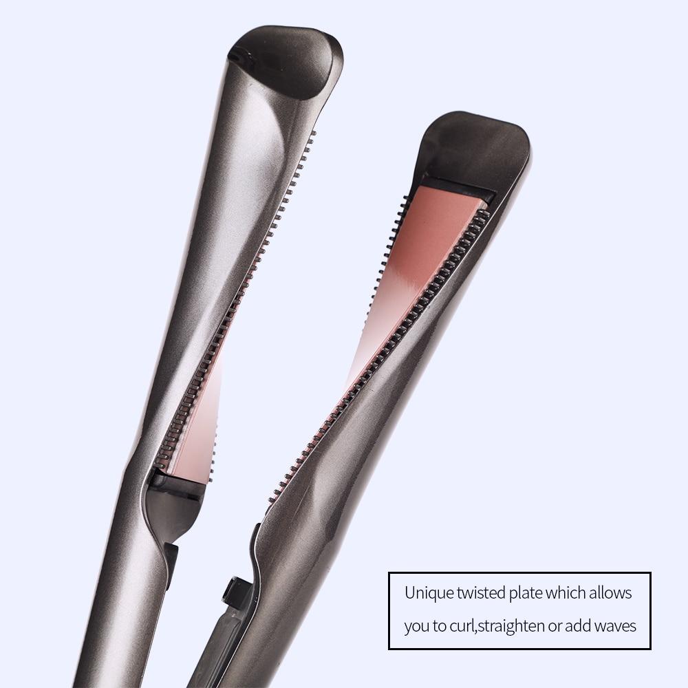 2021 novo modelador de cabelo & straightener