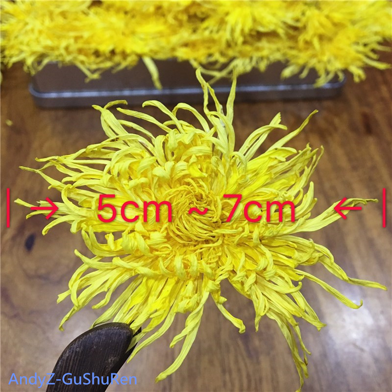 2020 7A Gold Wire Chrysanthemum Tea Fresh Natural Organic Flower Tea Green Food For Weight Loss Health Care Kung Fu Tea 1