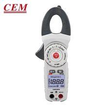 Cem DT-333H digital braçadeira medidor de alta-precisão verdadeiro valor eficaz amperímetro totalmente automático display digital amperímetro ac