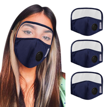 PM2.5 Mouth Mask Anti-dust Mask Reusable Mask With Eye Protection Masks Washable Mouth Face Masks 1