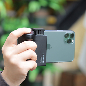 Image 4 - Smartphone Selfie Booster Handle Grip Bluetooth Photo Stabilizer Holder with Shutter Release 1/4 Screw Phone Stand