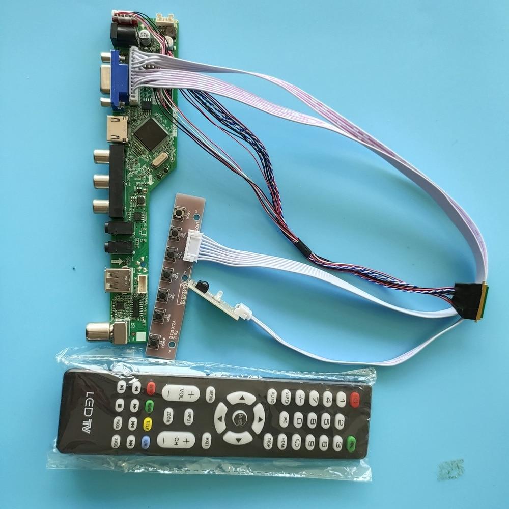 Kit para LP154WP4-TLA1 remoto VGA Placa de controlador 40pin LVDS panel de pantalla LCD 1440X900 LED TV AV HDMI USB 15,4