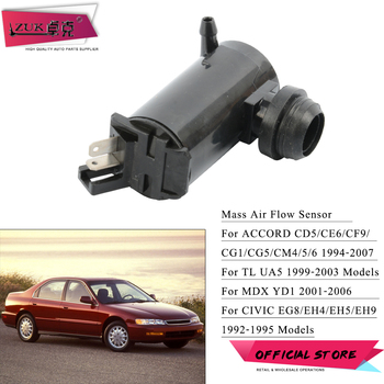 ZUK Windscreen Washer Motor For HONDA CIVIC 1992-1995 ACCORD 1994-2007 TL 1999-2003 MDX 2001-2006 Windshield Cleaning Pump image