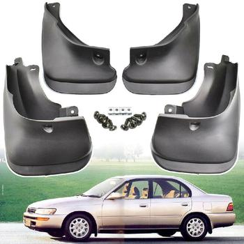 Car Mud Flaps Front Rear Mudguard Splash Guards Fender Mudflaps For Toyota Corolla Sedan 1993-1998 E100 AE100 AE102 101 image