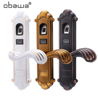 Obawa Electronic Door Lock Touch Password IC Cards Digital Code Keyless Intelligent Biometric Fingerprint Lock Smart Home Office