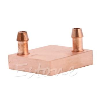 Copper Water Cooling Block For GPU CPU Radiator Liquid Heatsink Heat Sink Cooled Double Side