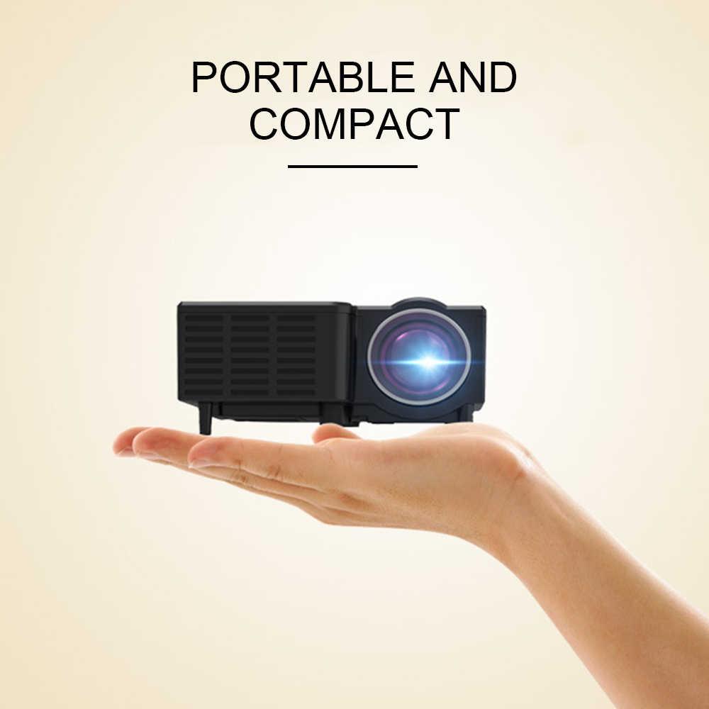 Resultado de imagen de LEJIADA YG320 LED Mini Portable Projector GIF