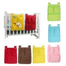 Мультяшные детские комнаты висячая сумка для хранения карман для пеленок для новорожденных Детская кроватка набор Детская кроватка кровать кроватка Органайзер игрушка 45*35 см