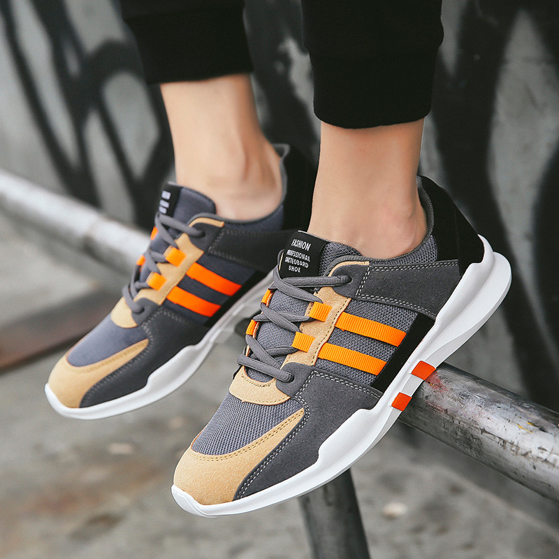 Shoes Men Summer Breathable Mesh Shoes Casual Sneakers Men Tenis Trainers Superstar Outdoor Walking Sports Shoes 2019 Flats Man image