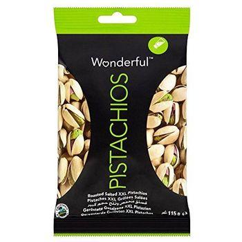 Wunderbare XXL Pistachios - geröstete & Salted (115g) - Packung mit 6