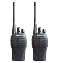 2 pçs/lote venda quente baofeng BF-999S walkie talkie uhf 400-470 mhz 8 w walkie talkie durável à prova de poeira à prova de chuva rádio em dois sentidos