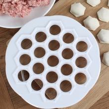 Porous-Machine Meat-Ravioli Mold Kitchen-Tool Chinese Household 19-Holes Dumpling Hand-Kneading