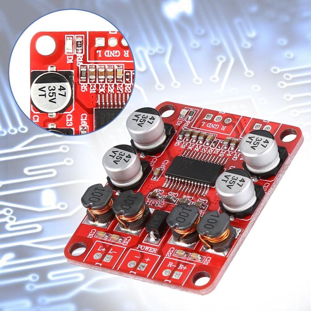 TPA3110 Power Amplifier Board High Power Digital Power Amplifier Board 2X15W Two Channel HF82 Durable 2019