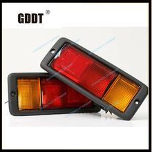 цена на MB124963 v32 V33 for pajero rear bumper lamp for MONTERO rear fog light WITHout BULB 1989-1999 MB124964 214-1946 v31 v43 v30