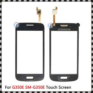 """Image 4 - 4.3 """"삼성 갤럭시 DUOS 스타 어드밴스 G350E SM G350E 터치 스크린 디지타이저 센서 외부 유리 렌즈 패널 블랙 화이트"""