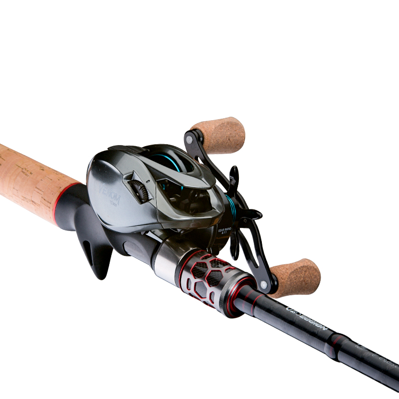 Image 4 - OBSESSION Carbon 2 Sections Baitcasting Casting Fishing Rod 68  76 2.05m 2.28m H XH jigging rod Freshwater Fishing TackleFishing Rods