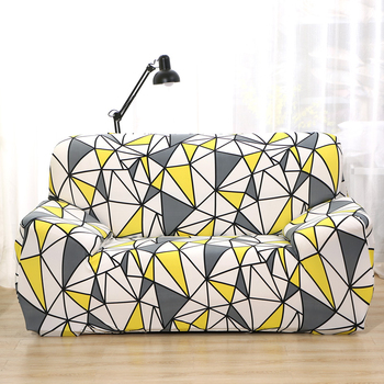 Sofa Covers for Living Room Modern Floral Printed Stretch Sectional Slipcover Polyester L Shape Armchair Couch Case 1/2/3/4 Seat 30