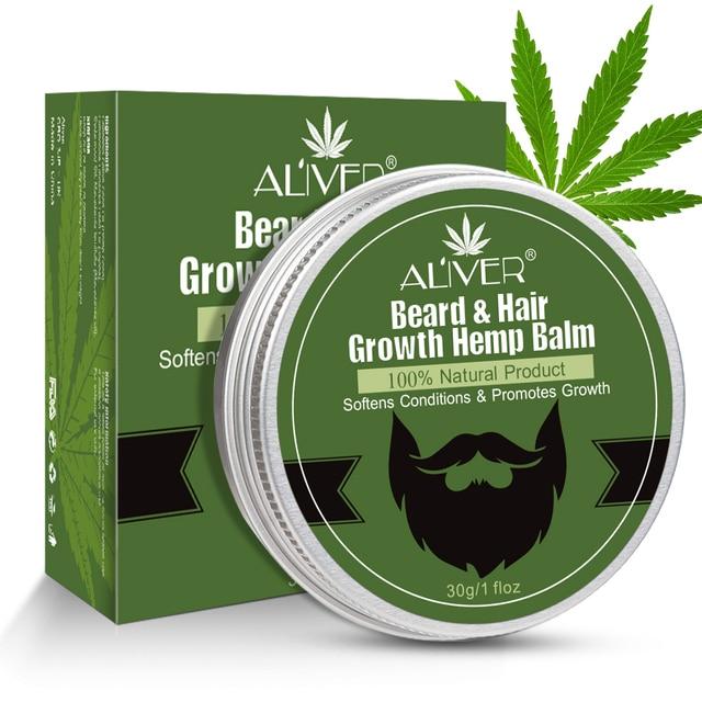 30ML  Beard Growth Oil Beard Balm Moustache Growth Serum Moisturizing Smoothing Beard Hair Growth Essence Hair Care 6