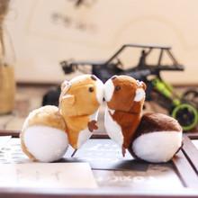 Śliczne małe 12CM wiewiórka pluszowa zabawka Kawaii lalki pluszowe breloki prezenty tanie tanio CN (pochodzenie) Tv movie postaci COTTON 12 + y Squirrel Mały wisiorek Miękkie i pluszowe Unisex Animals WMJ248 Pp bawełna