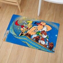 Asterix Comics Печатный домашний декоративный Придверный коврик, стелька, кухонный коврик для дома, для улицы, для ванной комнаты, Нескользящие ко...