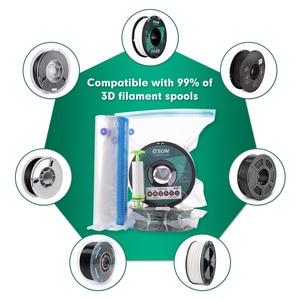 Image 3 - ESUN sac de rangement Kit 3D impression soie PLA PETG TPU Filament scellé sous vide garder au sec éviter lhumidité pour les bobines dimprimante 3D