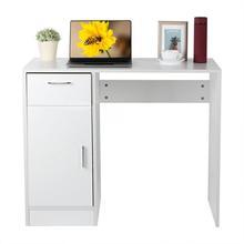 Furniture Bathroom 1-Drawer Home PC 1-Door Desk Computer Table-Workstation Laptop Office