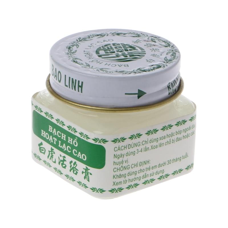 Vietnam White Tiger Balm For Headache Toothache Stomachache Vaume Blanc X5XC
