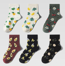 Funny Socks Autumn and Winter Creative New Fruit Series Personality Ladies Cotton Tide 2019 Fashion