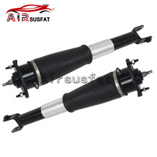Pair Rear Air Suspension Shock Absorber Airmatic Damper Strut with Electric For Cadillac SRX 2004 2009 15145221 19302764 580139