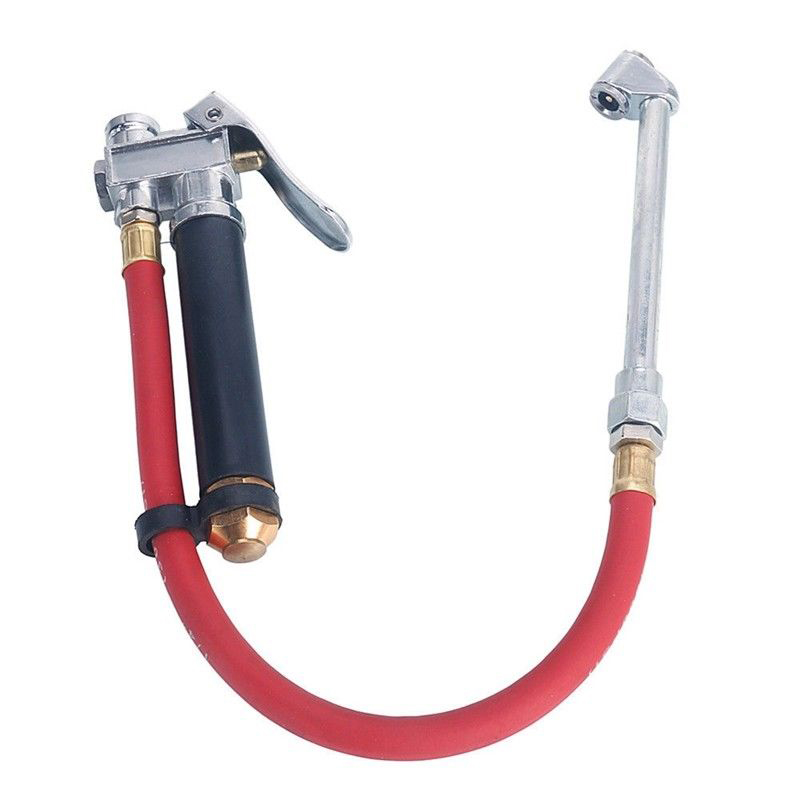 Air Tire Pressure Gauge Inflator| Dual Chuck Inflator For Car Compressor Hose