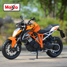 Maisto 1:12 KTM 1290 Super Duke R оранжевый Литой Транспортных средств Коллекционная хобби модель мотоцикла, игрушки