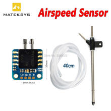 In lager Matek System Mateksys Analog Fluggeschwindigkeit Sensor ASPD 7002 für RC FPV Racing Drone Rahmen F405 F711 F765 FLÜGEL