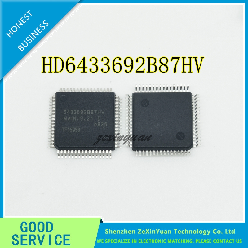5PCS/LOT  New Original HD6433692B87HV 6433692B87HV MAIN.9.21.0 QFP