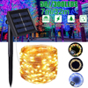 solar lamp led outdoor 7m 32m led fairy lights holiday christmas garlands solar garden party waterproof lights LED String Lights review
