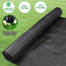 Tissu Anti-mauvaises herbes PP tissé, tapis de désherbage de serre, imperméable à l'eau, Anti-herbe, paillis agricole