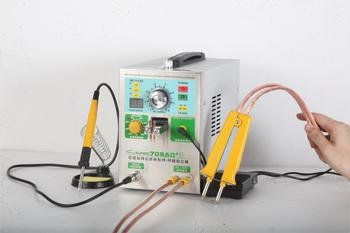 цена на SUNKKO 709AD+ with 71B lithium battery induction automatic spot welding machine 3.2KW high power for 18650 battery pack