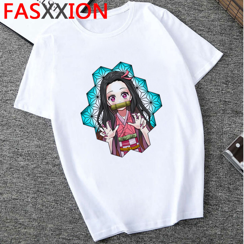 H656b5dd0d8d3464781a3e28bcd19c83cJ - Demon Slayer T-shirt  Graphic Tees Men Streetwear  Japanese Anime Cool Tshirt Funny Cartoon Kimetsu No Yaiba T Shirt Male