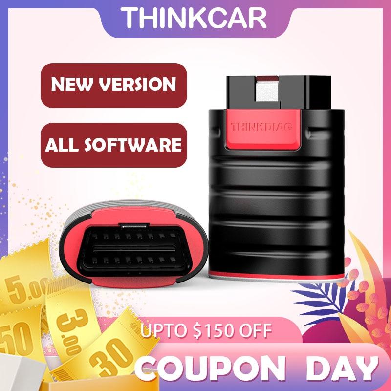 Thinkdiag OBD2 Scanner New Thinkdiag All Software Free 15 Resets Professional Diagnostic tools Easydiag Golo