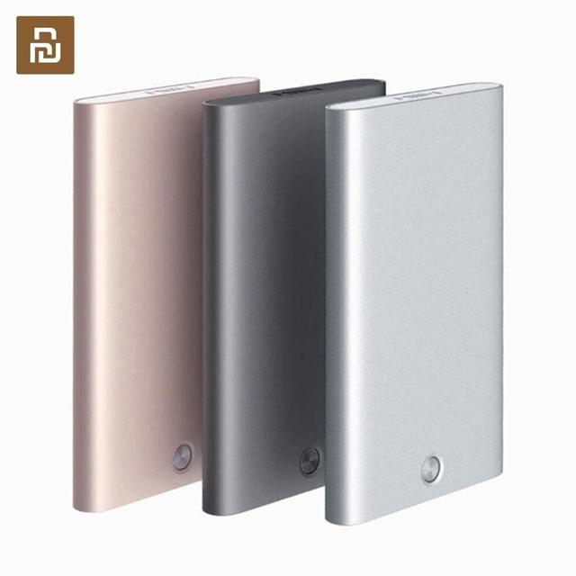Novo youpin miiiw titular do cartão de aço inoxidável prata alumínio caso de cartão de crédito caso de cartão de identificação