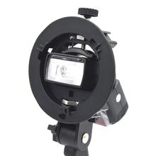 S-Type Bracket Bowens S Mount Holder for Speedlite Flash Photo studio Accessories Snoot Softbox Umbrella Bowens Mount Holder