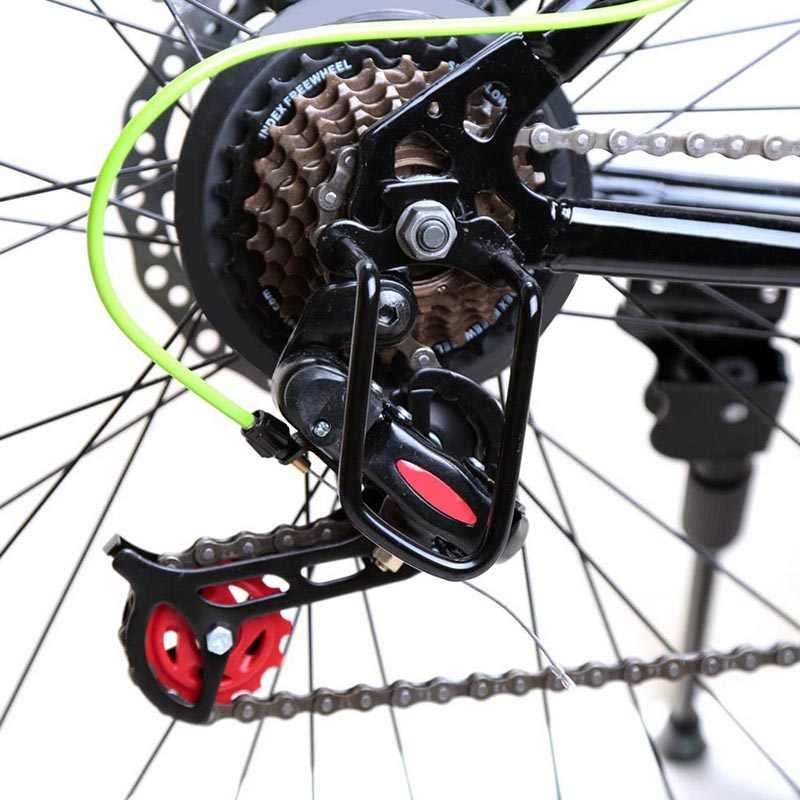 חדש אופני הגנת כיסוי ברזל אופניים רכיבה על אופניים אחוריים הילוכים שרשרת משמר מגן משמר אלומיניום מסגרת אופניים מגן