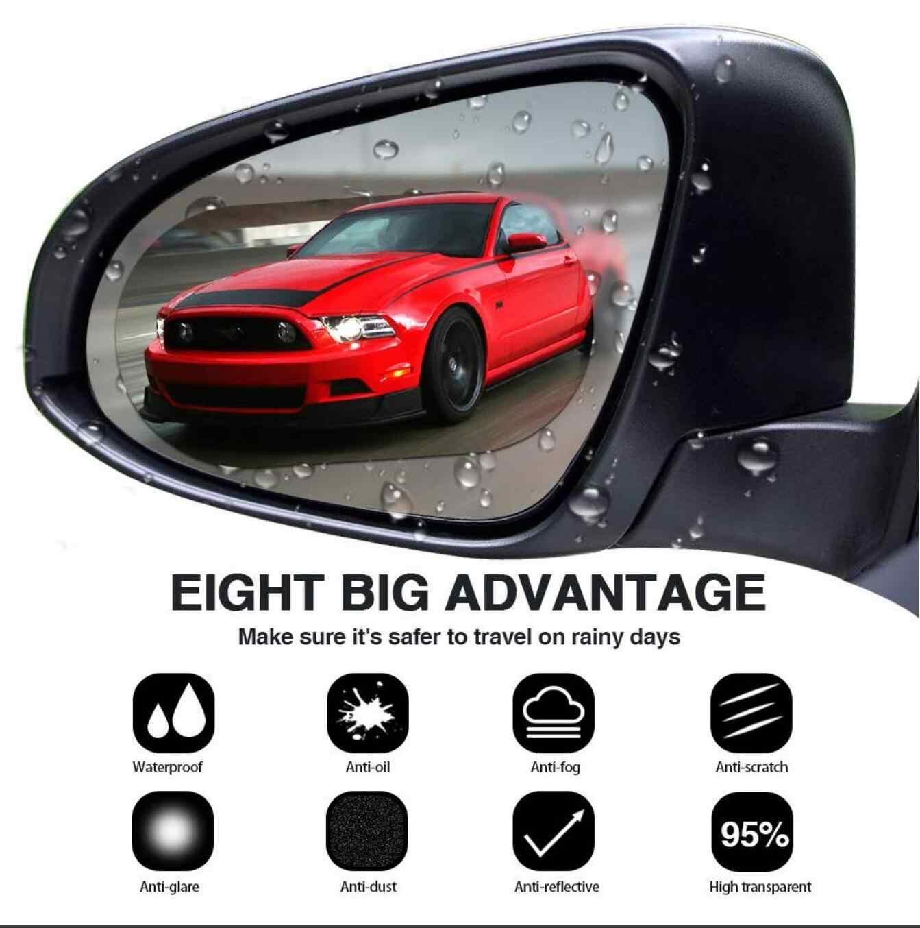 Mobil Kaca Film Cermin Anti Kabut Jendela Yg Tahan Hujan Belakang Cermin untuk BMW E46 E39 E60 E36 E90 F30 F10 x5 E53 E70 E30 E34