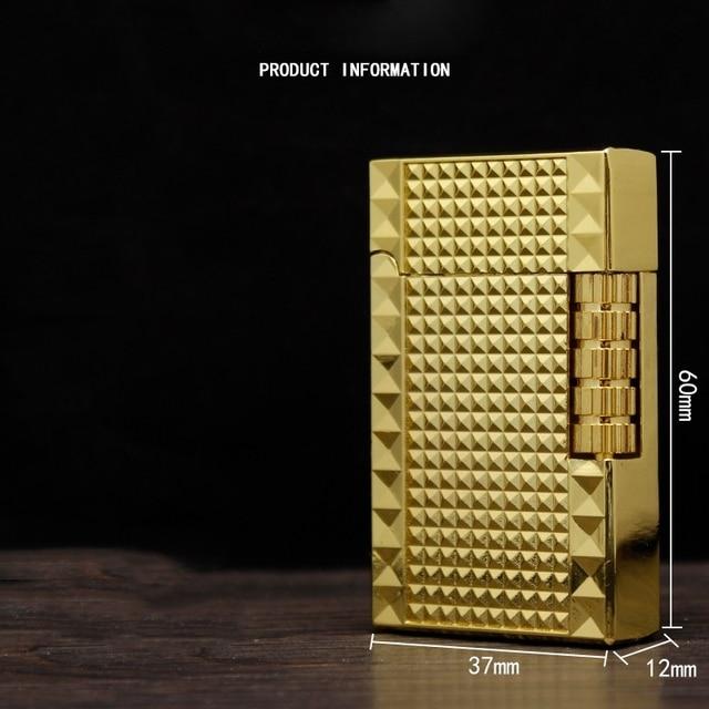 Buy Lighters Funny Flints Gas Lighter Mini Metal Butane Funny Cigarettes Accessories Cigar Smoking Lighters 5